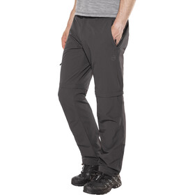 High Colorado Chur 3 Pantalones Trekking Zip-Off Hombre, anthracite